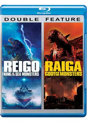 Reigo: King of The Sea Monsters / Raiga: God of the Monsters (Blu-ray) (BD) - Klik her for at se billedet i stor størrelse.
