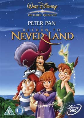 Peter pan return to neverland dvd klik her for at se billedet i