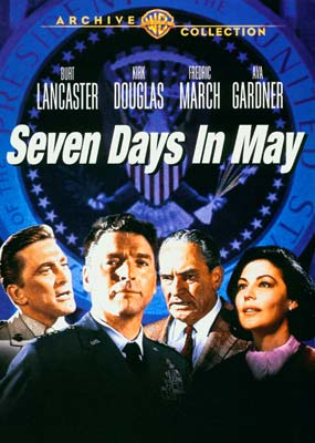 Seven Days in May (Warner Archive) (DVD) - Klik her for at se billedet i stor størrelse.