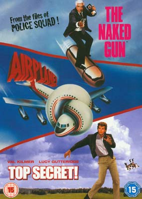 Naked Gun, The / Airplane / Top Secret! (3 film) (DVD) - Klik her for at se billedet i stor størrelse.