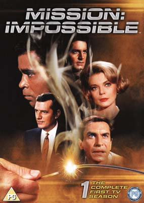 Mission Impossible:  Season 1 (7-disc) (DVD) - Klik her for at se billedet i stor st�rrelse.