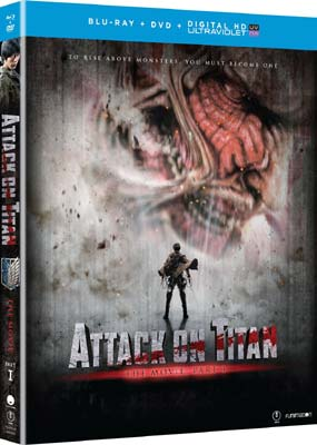 Attack on Titan - The Movie: Part 1 (Blu-ray & DVD) (BD) - Klik her for at se billedet i stor størrelse.