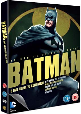 Batman: Animated Collection (5-disc) (DVD) - Klik her for at se billedet i stor st�rrelse.