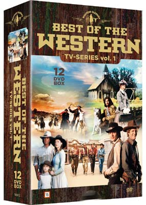 Best of The Western TV-Series: Vol. 1  (DVD) - Klik her for at se billedet i stor størrelse.