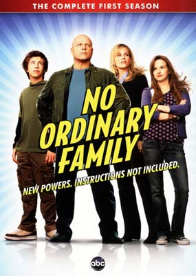 No Ordinary Family: The Complete Series (4-disc) (DVD) - Klik her for at se billedet i stor størrelse.