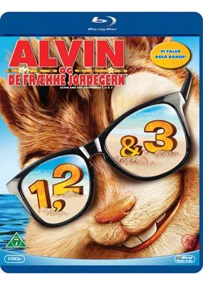 Alvin og de frække jordegern trilogien (Blu-ray) (BD) - Klik her for at se billedet i stor størrelse.