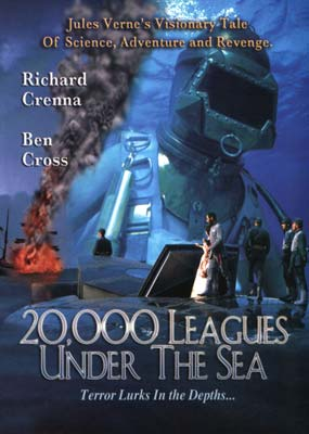 20,000 Leagues under the Sea   (Richard Crenna)  (DVD) - Klik her for at se billedet i stor st�rrelse.