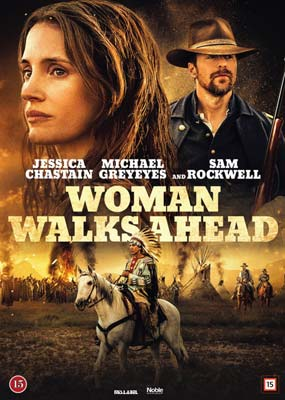 Woman Walks Ahead  (DVD) - Klik her for at se billedet i stor størrelse.