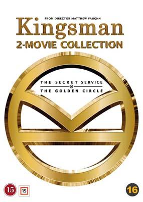 Kingsman: 2-Movie Collection  (DVD) - Klik her for at se billedet i stor størrelse.