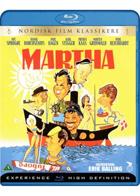 Martha (Ove Sprogøe) (Blu-ray) (BD) - Klik her for at se billedet i stor størrelse.
