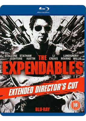 Expendables, The: Extended Director's Cut (Blu-ray) (BD) - Klik her for at se billedet i stor st�rrelse.