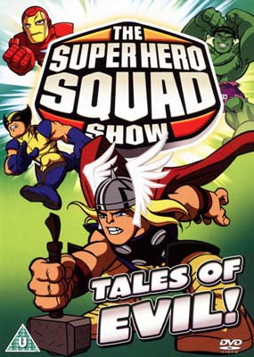 Super Hero Squad   Show,  The: Vol. 4 - Tales of Evil!  (DVD) - Klik her for at se billedet i stor st�rrelse.