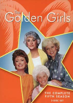 Golden Girls The Season 5 3 Disc Dvd Laserdisken