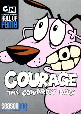 frygtløs den frygtsomme hund dvd