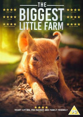 Biggest Little Farm, The  (DVD) - Klik her for at se billedet i stor størrelse.