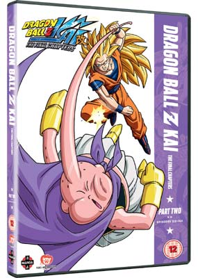 Dragon Ball Z - Kai:  The Final Chapters, Part 2 (Episodes 122-144)  (DVD) - Klik her for at se billedet i stor størrelse.
