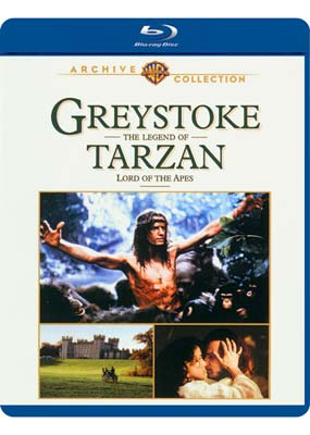 Greystoke: The Legend of Tarzan, Lord of the Apes (Blu-ray) (BD) - Klik her for at se billedet i stor størrelse.