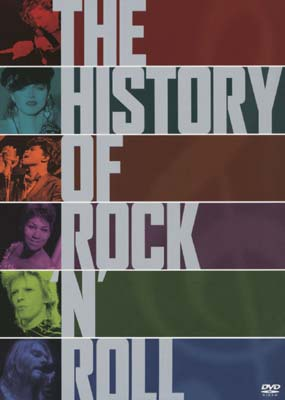 History of Rock 'N' Roll, The (5-disc) (DVD) - Klik her for at se billedet i stor st�rrelse.