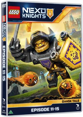 LEGO Nexo Knights: Episode 11-15  (DVD) - Klik her for at se billedet i stor størrelse.