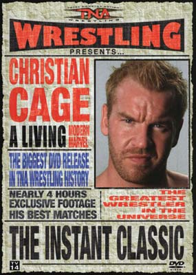TNA Wrestling: The Best of Christian Cage - The Instant Classic  (DVD) - Klik her for at se billedet i stor st�rrelse.