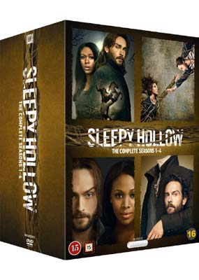 Sleepy Hollow: The Complete Series (4-pack) (DVD) - Klik her for at se billedet i stor størrelse.
