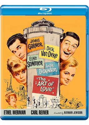 Art of Love, The (James Garner) (Blu-ray) (BD) - Klik her for at se billedet i stor størrelse.