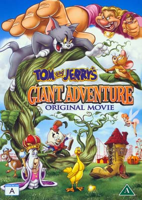 Tom and Jerry's Giant  Adventure  (DVD) - Klik her for at se billedet i stor størrelse.