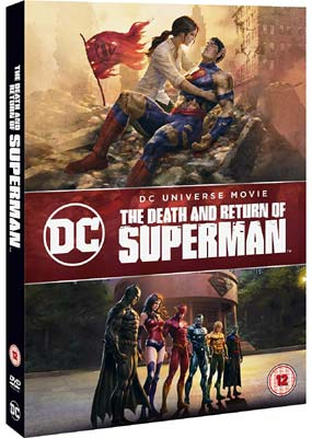 Death and Return of Superman, The  (DVD) - Klik her for at se billedet i stor størrelse.