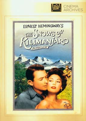 Snows of Kilimanjaro,  The (Fox Cinema Archives) (DVD) - Klik her for at se billedet i stor størrelse.
