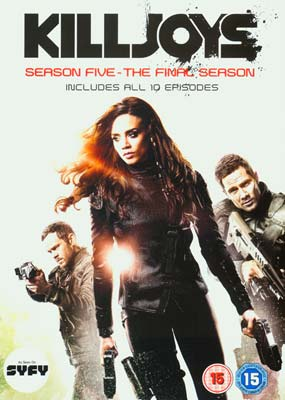 Killjoys:  Season 5 - The Final Season  (2-disc) (DVD) - Klik her for at se billedet i stor størrelse.