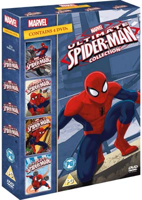 Ultimate Spider-Man Collection (4-disc) (DVD