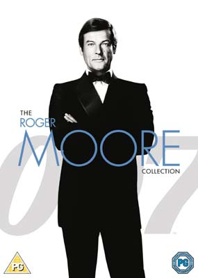 James Bond Roger Moore Ultimate Collection  (DVD) - Klik her for at se billedet i stor størrelse.