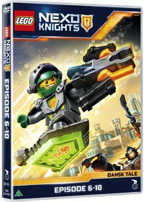 LEGO Nexo Knights: Episode  6-10  (DVD) - Klik her for at se billedet i stor størrelse.