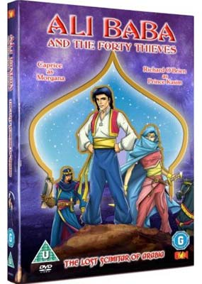 Ali Baba and the Forty Thieves (Animation)  (DVD) - Klik her for at se billedet i stor st�rrelse.