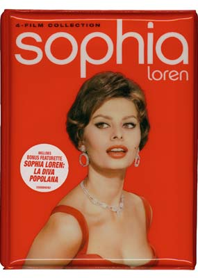 Sophia Loren 4-Film Collection (3-disc) (DVD) - Klik her for at se billedet i stor størrelse.
