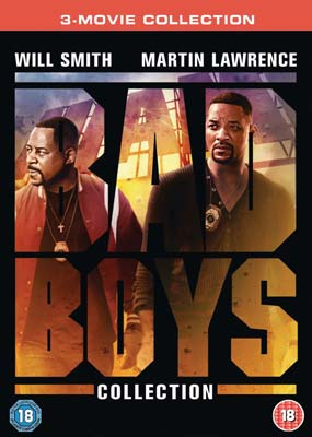 Bad Boys: 3-Movie Collection  (DVD) - Klik her for at se billedet i stor størrelse.