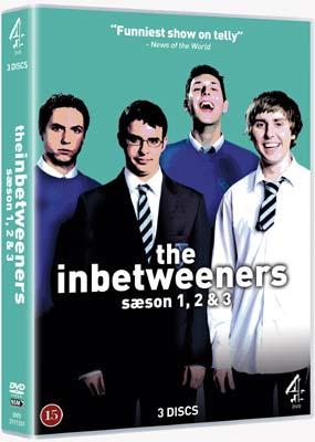 Inbetweeners, The:  S�son 1-3 (3-disc) (DVD) - Klik her for at se billedet i stor st�rrelse.