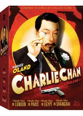 Charlie Chan Collection, Volume 1 (4 film) (DVD) - Klik her for at se billedet i stor st�rrelse.