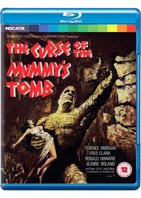 Curse of the Mummy's Tomb, The  (Blu-ray) (BD) - Klik her for at se billedet i stor størrelse.