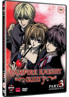Vampire Knight Guilty, Part 3: Episodes 8-10  (DVD) - Klik her for at se billedet i stor st�rrelse.