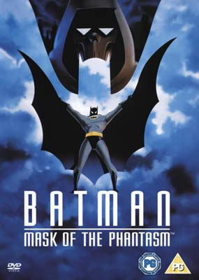 Batman: Mask of the Phantasm  (DVD) - Klik her for at se billedet i stor størrelse.