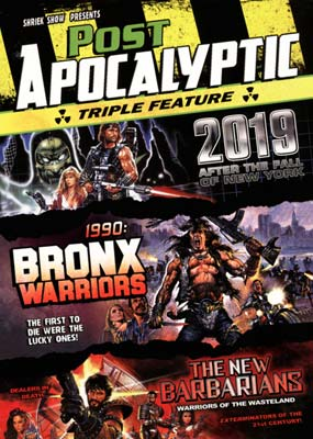 Post Apocalyptic - Triple Feature (3-pack) (DVD) - Klik her for at se billedet i stor st�rrelse.