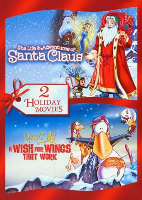 Life & Adventures of Santa Claus, The / Opus N' Bill in a Wish for Wings That Work  (DVD) - Klik her for at se billedet i stor størrelse.