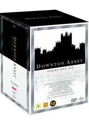 Downton  Abbey:   The Complete Collection (26-disc) (DVD) - Klik her for at se billedet i stor størrelse.