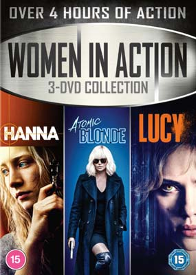 Women in Action: 3-DVD Collection  (DVD) - Klik her for at se billedet i stor størrelse.