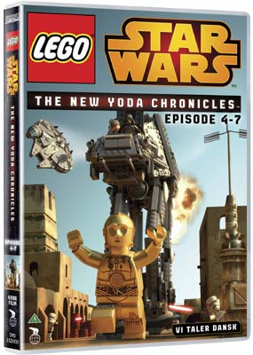 LEGO Star Wars: The Yoda Chronicles, Episode  4-7  (DVD) - Klik her for at se billedet i stor størrelse.