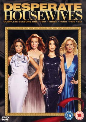 Desperate Housewives:  Seasons  1-6 (Gift Set) (DVD) - Klik her for at se billedet i stor st�rrelse.