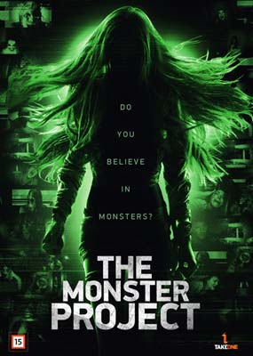 Monster Project, The  (DVD) - Klik her for at se billedet i stor størrelse.