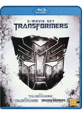 Transformers Collection (3    film) (Blu-ray) (BD) - Klik her for at se billedet i stor størrelse.