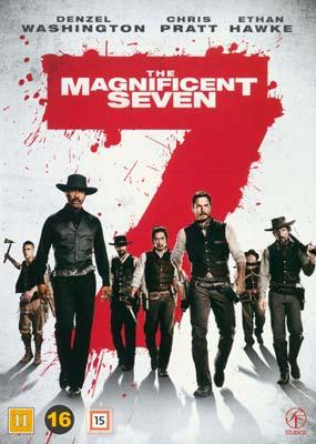 Magnificent Seven,  The    (Remake)  (DVD) - Klik her for at se billedet i stor størrelse.